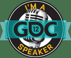 I'm a GDC Speaker button