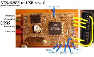AtariSMSGenesis joystickcontrollermultitap to USB adapter