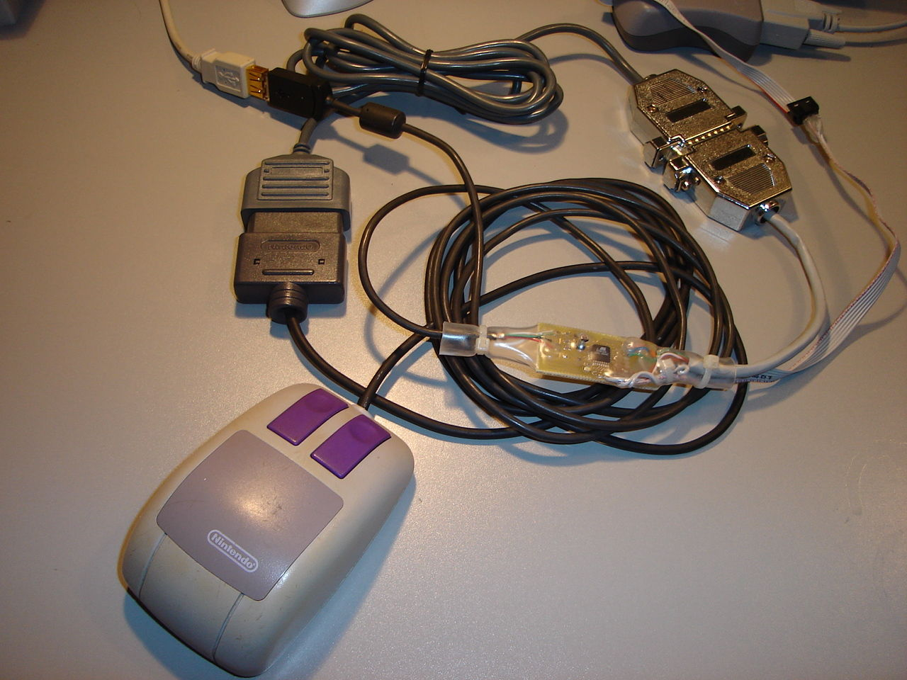 hight resolution of the mouse is now usable under any operating system supporting standard usb hid mice snes nes gamepad and mouse to usb adapter