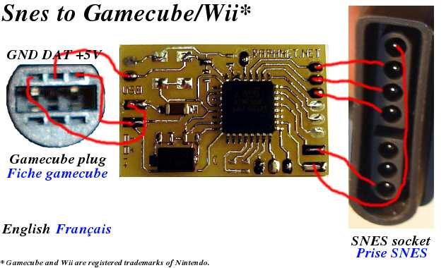 wiring diagram for capacitor xtrons double din n64/snes/nes controller to gamecube/wii conversion project