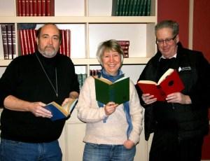 Judges Harry Turner, Ela Kinowska, Darrell Larose