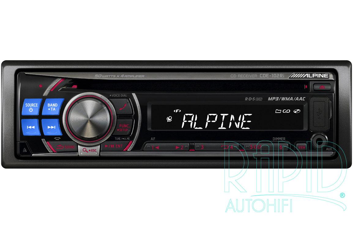 Alpine Cde 143bt Wiring Diagram