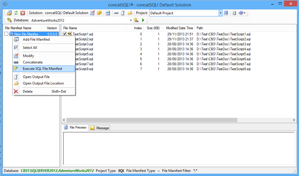 concatSQL