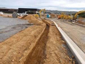site development wellington drainage