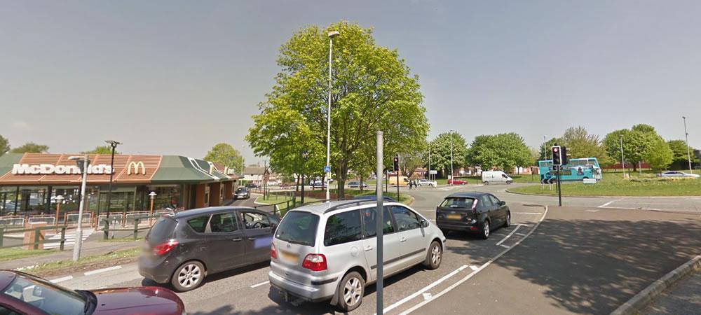 Wakes Road Roundabout (McDonald's)