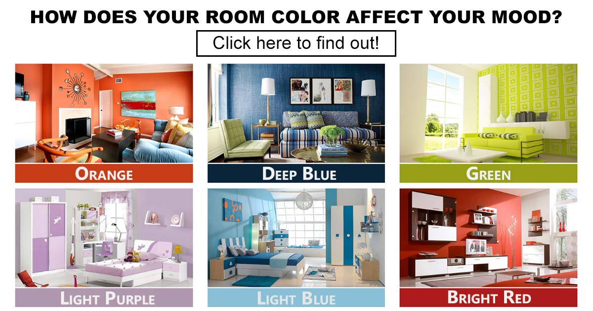 How does your room color affect your mood