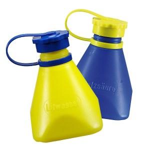 Freund flux and acid bottles
