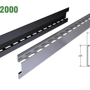 MC 2000 & 2100 Aluminum Mounting Extrusions