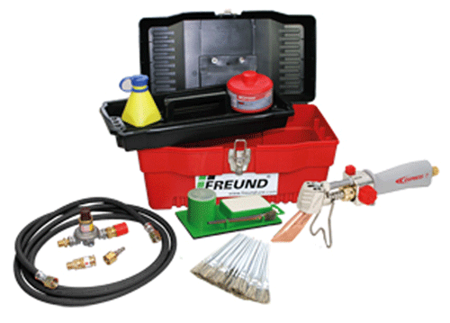 Soldering Freund Premium Soldering Kits with Express 367/8E Propane Soldering Irons