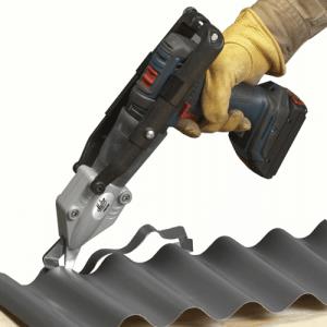 Malco TurboShear CM for Corrugated Metals