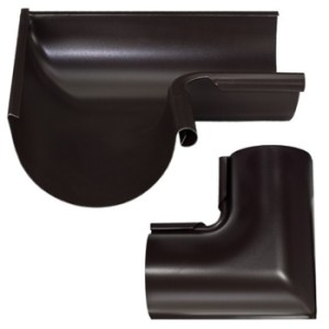 Zambelli Inside Miters for Painted Half-Round Gutter Systems