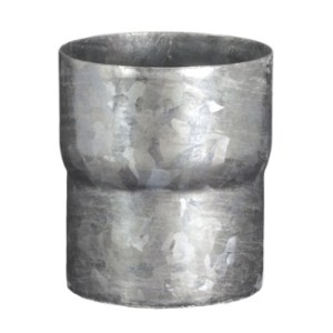 """3.1"""" Galvanized Downspout Connector"""
