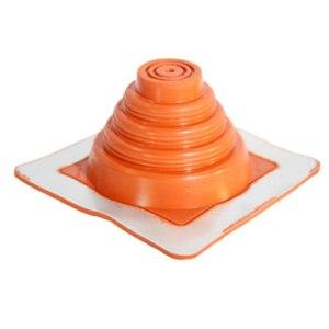 No 1 Silicone Square Base Pipe Boot