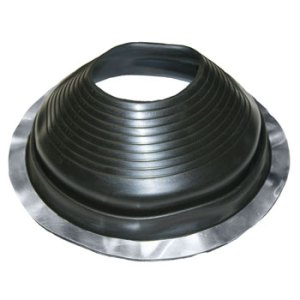 No 7 EPDM Universal Round Base Pipe Boot