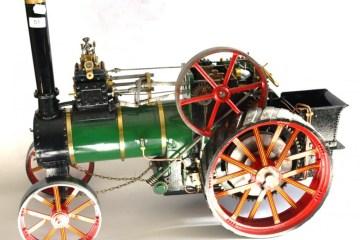 Vintage Single Cylinder Traction Engine