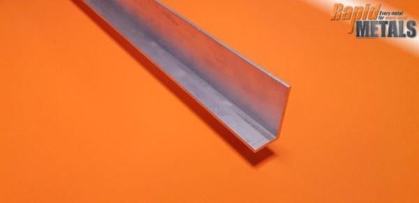 """Aluminium Angle 6"""" x 2"""" x 6.4mm"""