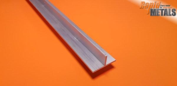 "Aluminium Tee Section 3"" x 6.4mm Wall"