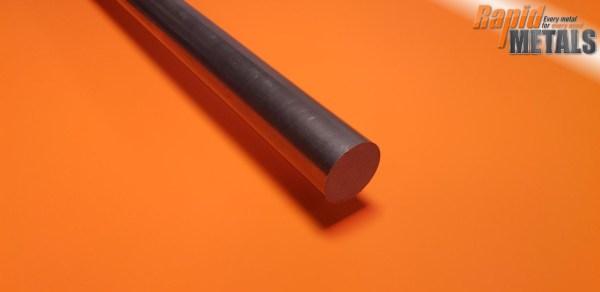 """Bright Mild Steel (080a15) 1/8"""" Round"""