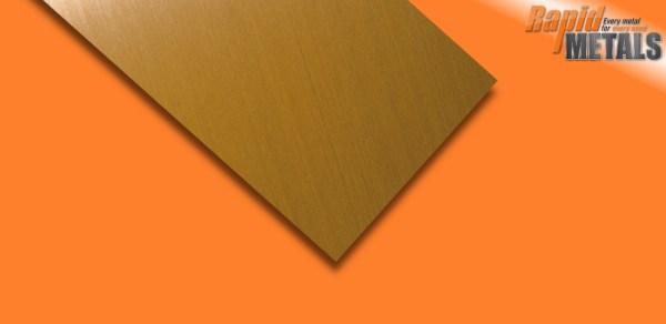 Brass Sheet 0.55mm