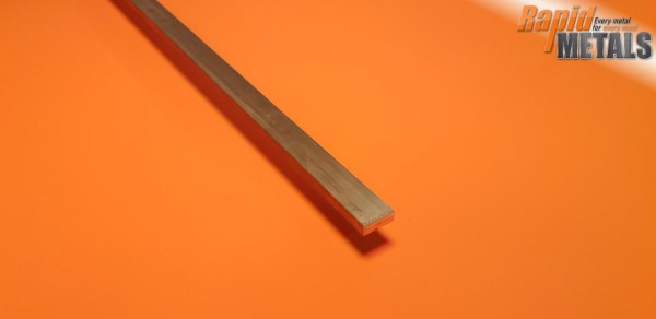 Brass Flat 12.7mm x 6.4mm