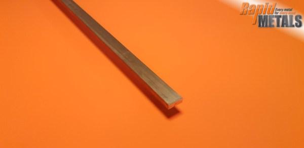 Brass Flat 50.8mm x 25.4mm