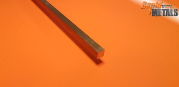 Brass Square 9.5mm