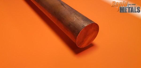 """Copper (C101) 1/8"""" Round"""