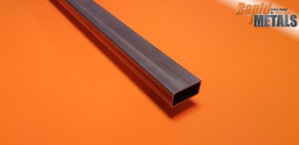 """Mild Steel ERW Box 1.1/2"""" x 3/4"""" x 1.6mm Wall"""