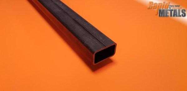 Mild Steel Box 75mm x 50mm x 3mm Wall