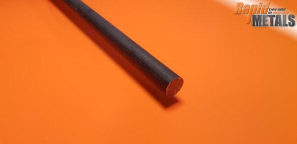 En8 (080m40) Black 125mm Round