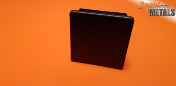 Plastic End Cap Square 75.0mm x 3.0mm Wall