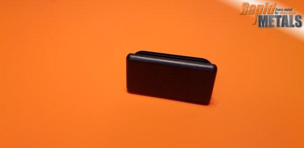 Plastic End Cap 40mm x 20mm x 1.5mm Wall