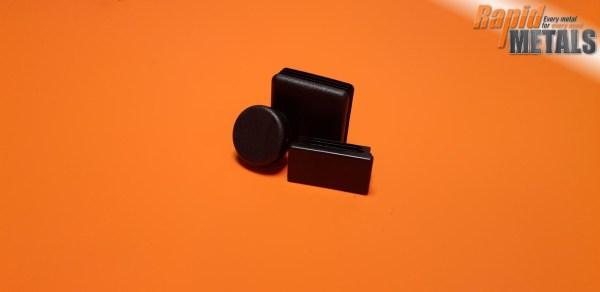 Plastic End Cap 25.4mm x 3.2mm Wall