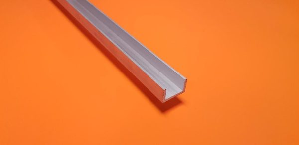 "Aluminium Channel 1/2"" x 1/2"" x 1.5mm Wall"