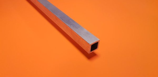 "Aluminium Box 1/2"" x 1/2"" x 1.6mm Wall"