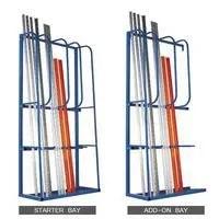 vertical racking storage racks
