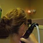 Class IV laser on neck