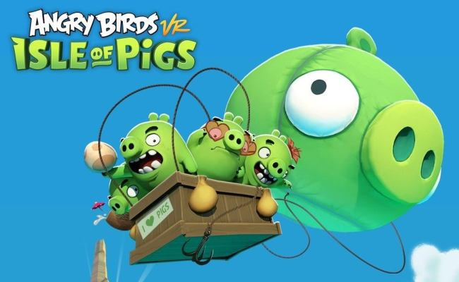 angry birds isle of pigs vr