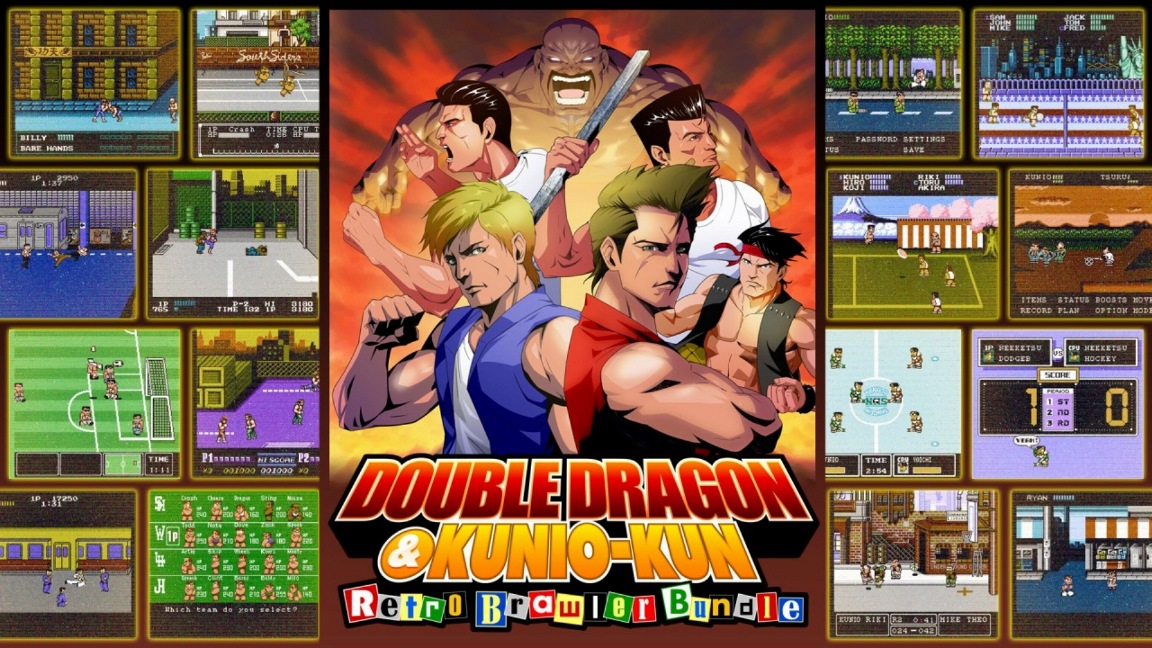 Double Dragon Kunio Kun Retro Brawler Bundle Rapid Reviews