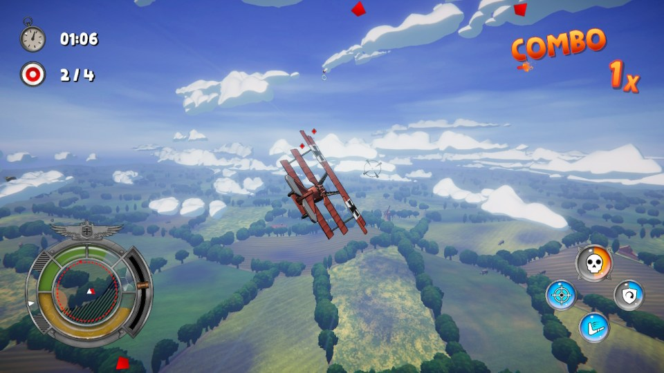 Red Wings Ace of the Sky Nintendo Switch