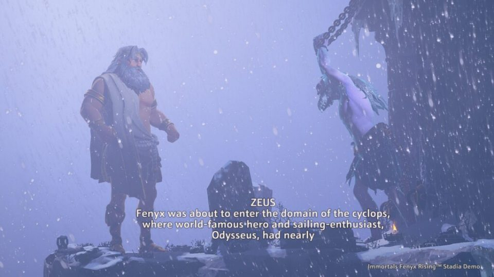 Immortal Fenyx Rising story cutscene
