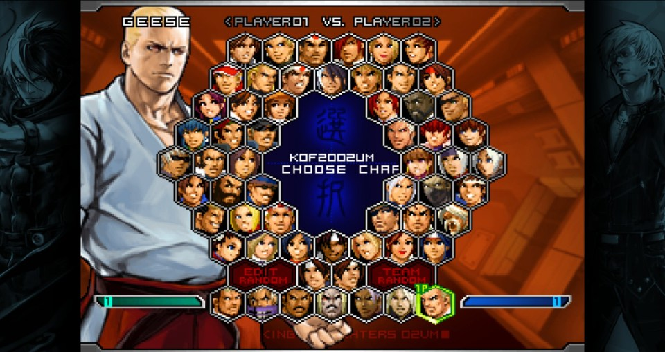 The King of Fighters 2002 Unlimited Match PS4/PS5