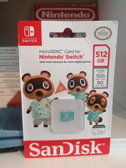 Nintendo SanDisk microSDXC
