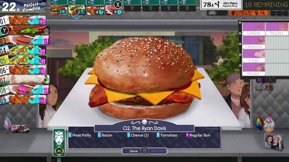 A burger from Cook, Serve Delicious! 3?!
