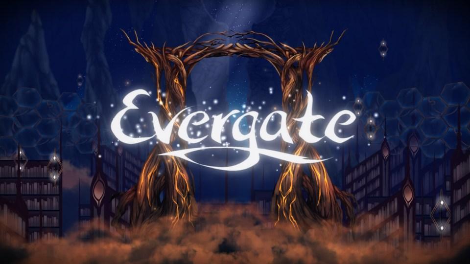 Evergate title screen