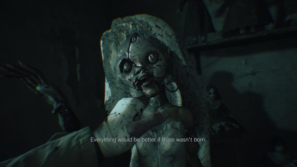 A doll in Resident Evil Village