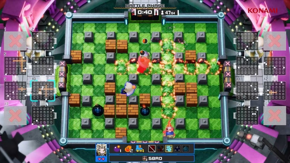One of many Super Bomberman R Online arenas to work through