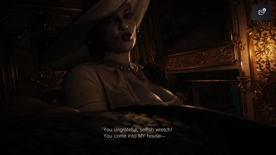 Lady Dimitrescu in Resident Evil Village