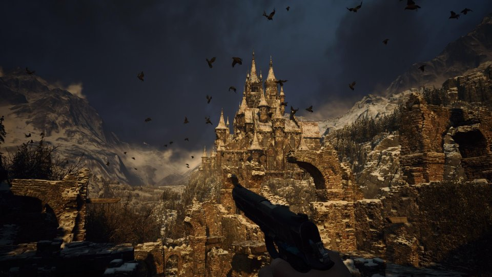 Castle Dimitrescu in Resident Evil Village