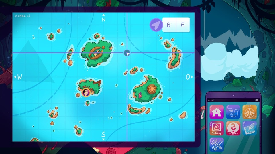 Leisure Suit Larry: Wet Dreams Dry Twice screenshot showing a world map featuring a selection of islands